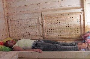 Как устроен домик для аэроапитерапии