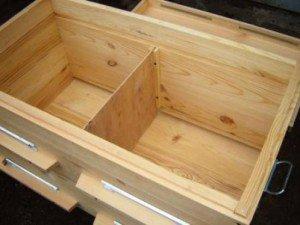 Улей-лежак для двухматочного пчеловодства