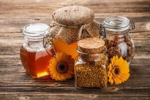 Полезные свойства меда с пергой