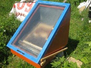 Самодельная солнечная воскотопка