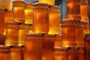 Мед хранят плотно закрытым
