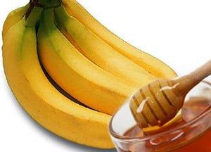 Рецепты банана с медом от кашля и масок для лица