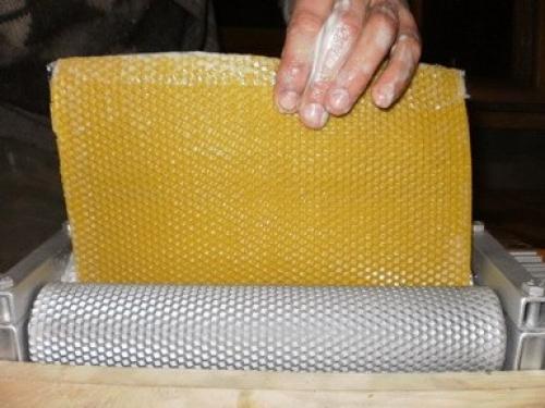 Как сделать вальцы для изготовления вощины своими руками по чертежам