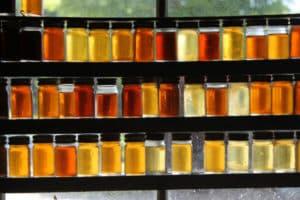 Оттенки натурального меда