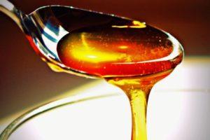 Густой вязкий мед