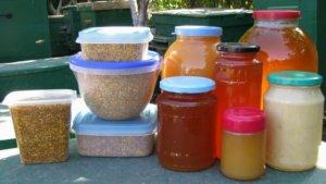 Натуральный мед и прополис