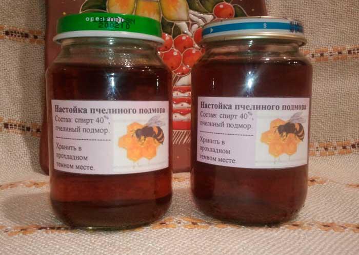 Как сделать и принимать настойки из пчелиного подмора от простатита